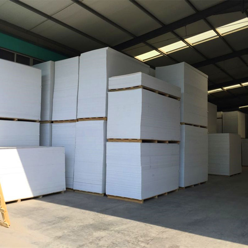 Rigid extruded construction polystyrene insulation 3mm white pvc foam board wholesale
