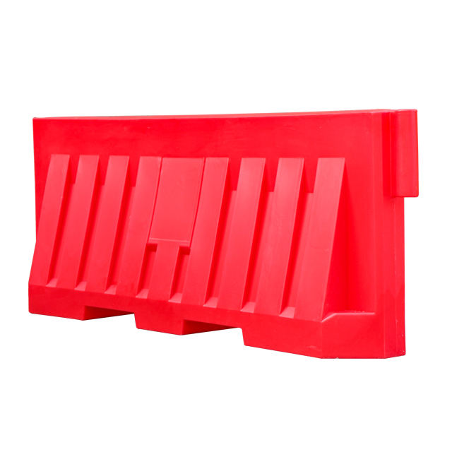 Rotomolding fan-shaped traffic road safety plastic barrier water filled barricade crowd control barrier