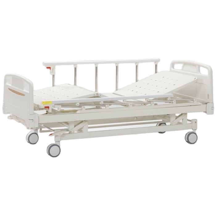 A-5-C1 Three functions with collapsible aluminum side rails  3 rocker manual beds for the disabled