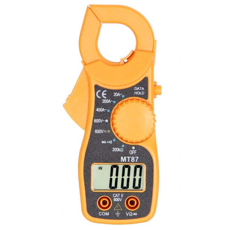 Digitale Clamp Meter Multimeter AC/DC Voltmeter Strom Widerstand Tester MT87