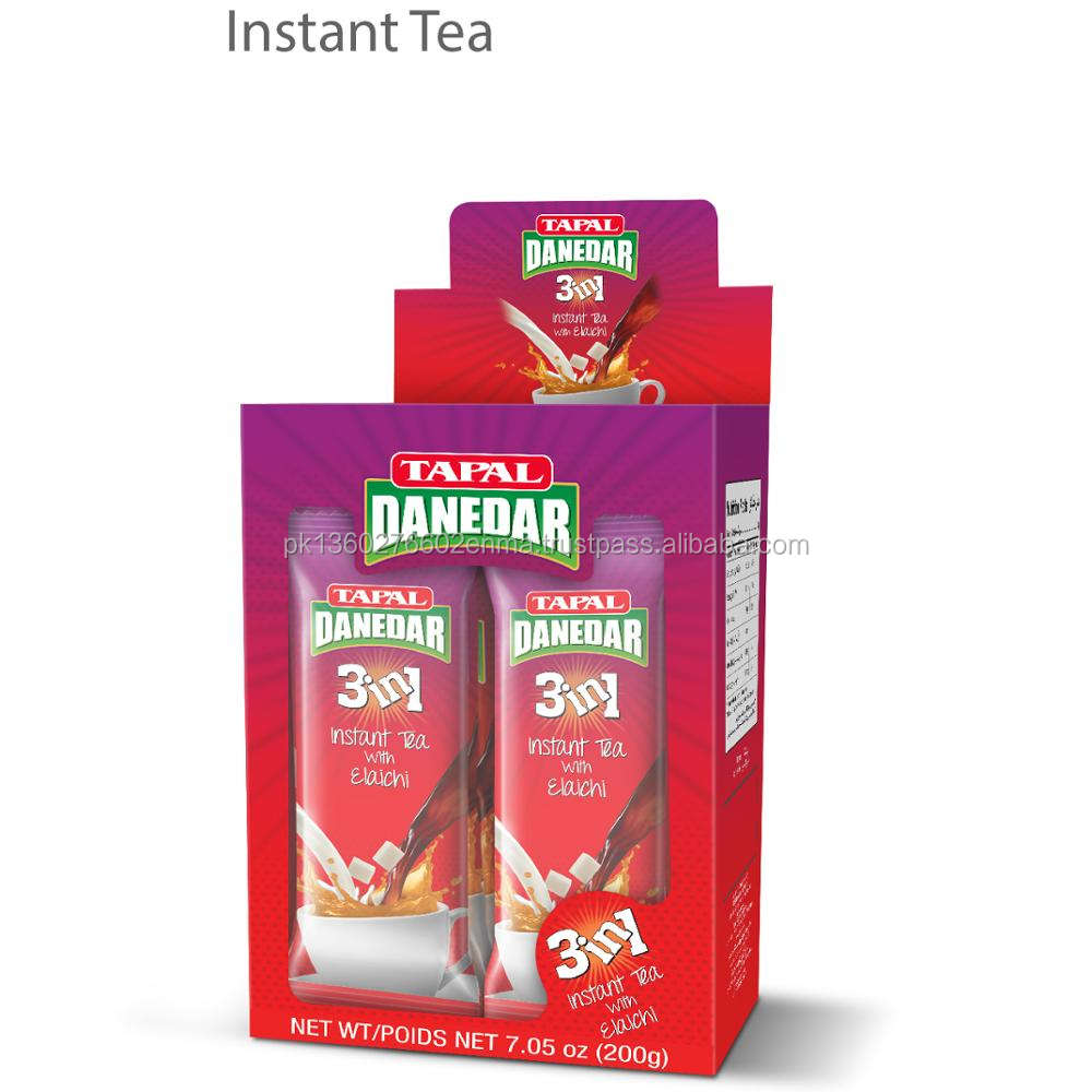Tapal Danedaar 3 in 1 Instant Tea Pouch Pakistan Branded High Quality Black Tea Best OEM Packaging Best Selling Tea