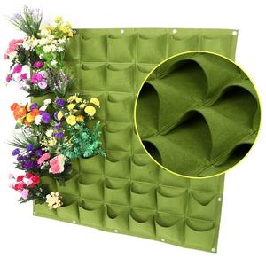 Wholesale needle punched nonwoven fabric vertical garden felt for grow bag planter