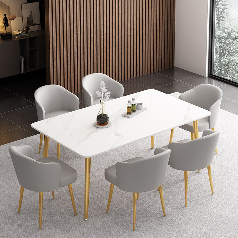 Free sample indian hot sale dining furniture modern dining table