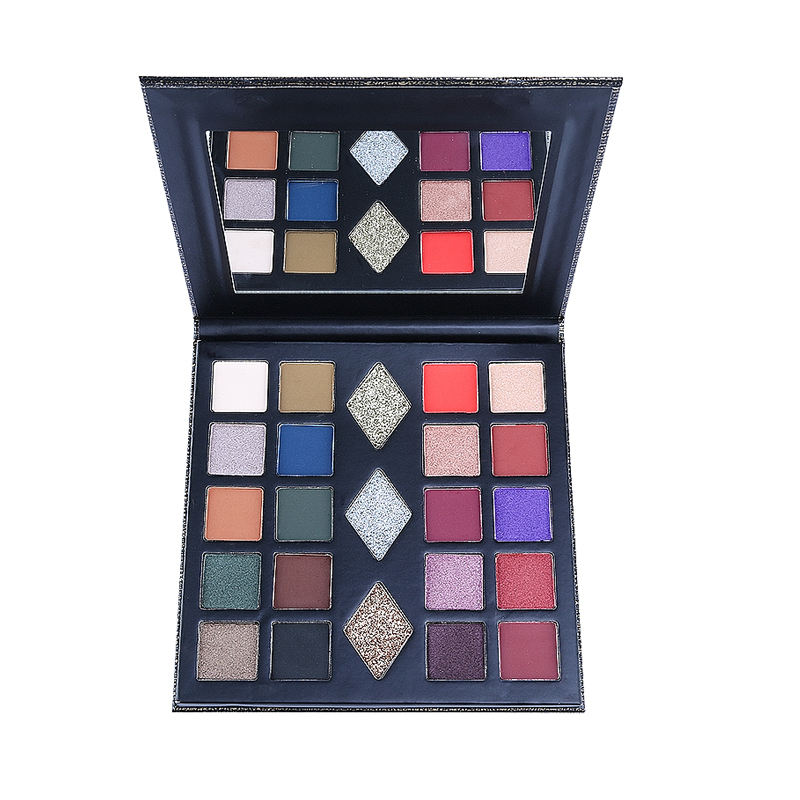 Feel Light and Soft Silky Shine Matte Private Label Naked Eye Shadow Palette Base Makeup