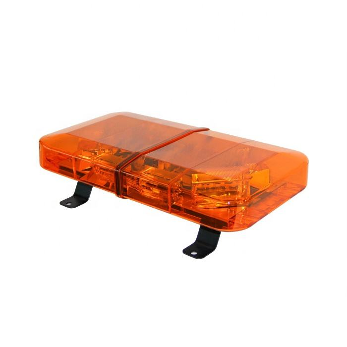 MUYE Thin Slim R65 Amber Halogen Rotating Flashing Warning Mini lightbar