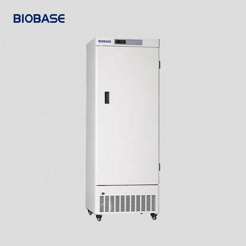 BIOBASE CHINA 328L Kesalahan Fungsi Alarm LED Display Vertikal-10 ~-25 Freezer untuk Lab
