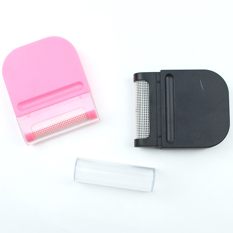 New Portable Lint Remover Brush Shaver Brush Pink Black White Pilling Sweaters & Removes Pills Lint from Garments Clothing