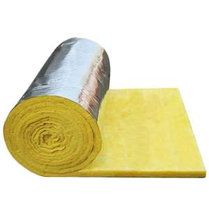 Glasswool rolls or glass wool blanket with aluminium foil or alu foil