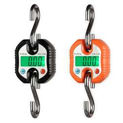 Mini Digital Scale for Fishing Luggage Travel Weighting Steelyard Hanging Electronic Hook Scale Kitchen Weight Tool