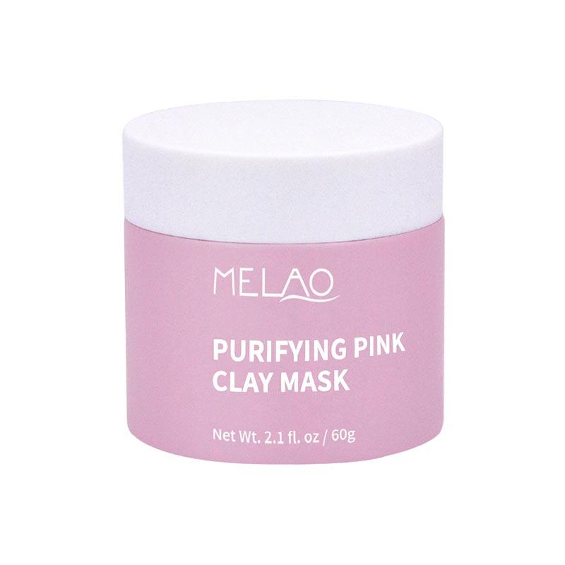 Hydrating pink mask mud dead sea red rose facial moisturizing beauty face pigmentation skin nose clay mud