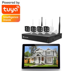 Tuya CMOS Home CCTV Products Security Surveillance Outdoor Wireless Wifi Security Cctv Camera System