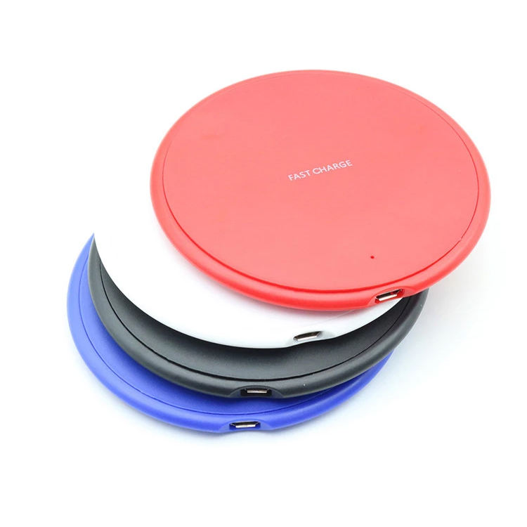 Amazon Hot Sell Universal Wireless Charger 10W Fast Wireless Charging Pad For Smart Mobile Phone