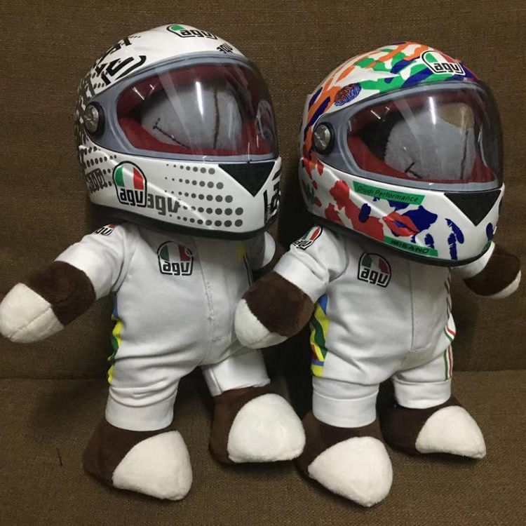 ABS Material Red DOT Approval Filp up Motorcycle Helmet RTS STOCK TOY BEAR