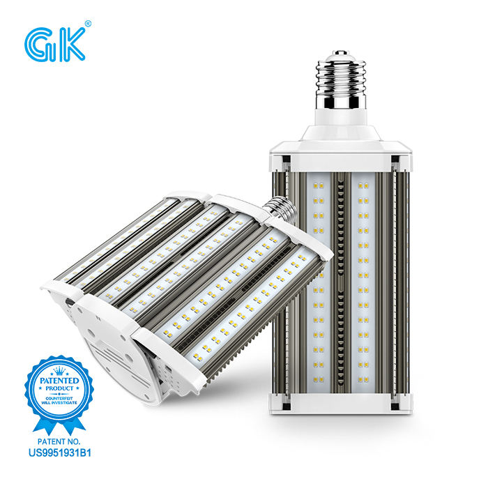 High quality led outdoor lighting 80watt replacing high-wattage HID luminaires 80w corn light with 3000-6000K 130lm/W