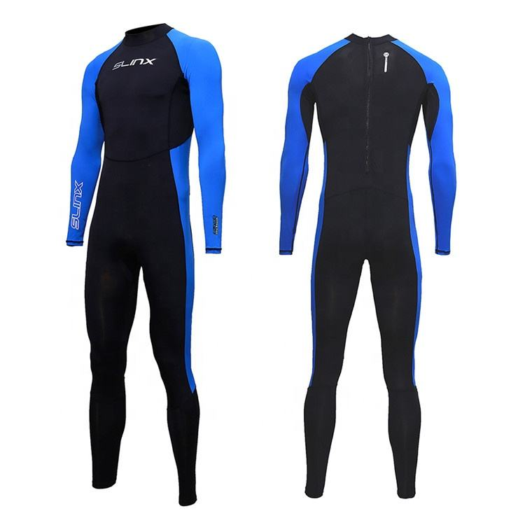 Men's diving suit thin quick-drying one-piece sunscreen surfing suit