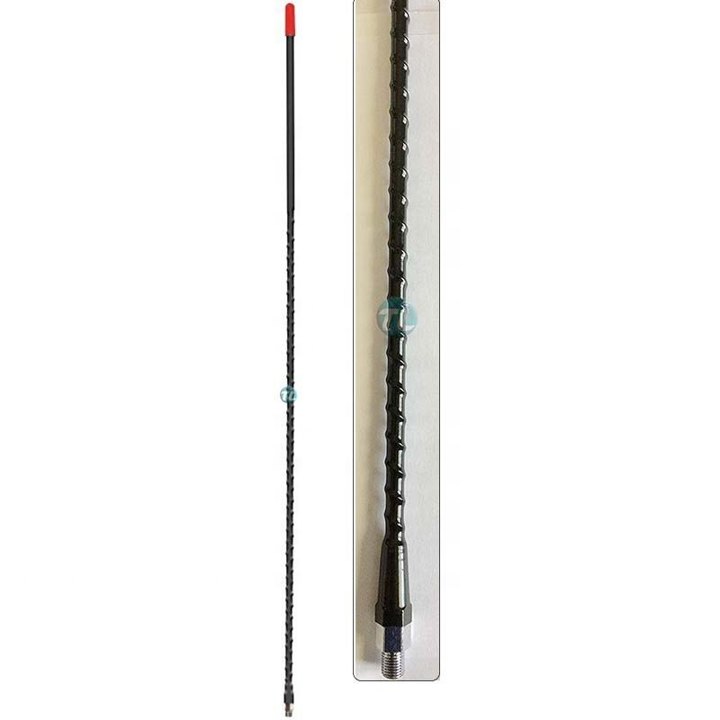 CB 27MHz antenna 2f or 3f Super flexible Tunable Helical Fiberglass Whip Antenna;fire stick CB mobile transceiver radio antenna