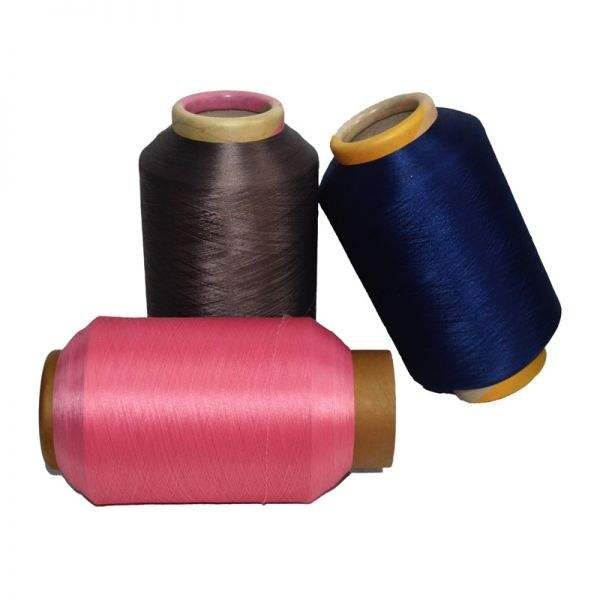 Recycle with GRS certification 100D 72Fwith 40D nylon acy air covered yarns earloop elastics for knitting