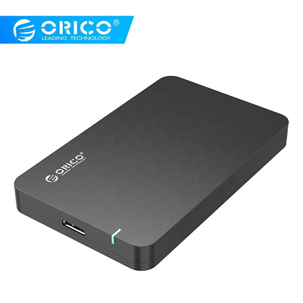 ORICO 2.5 Inch SSD HDD Enclosure USB3.0 SATA 5Gbps 4TB Tool-Free Box External Hard Disk Drive Case 7.5mm Support UASP 2569S3-V1