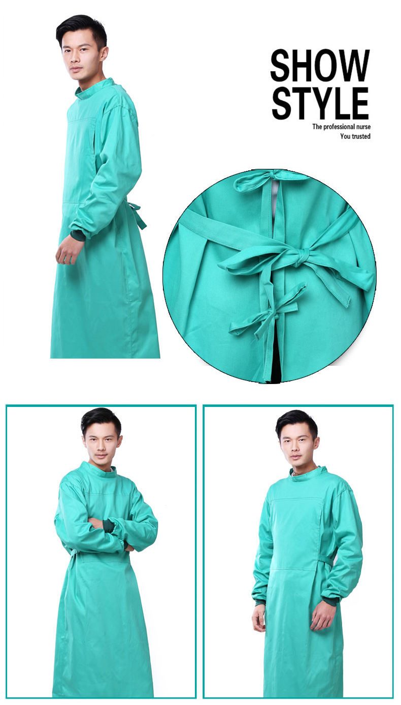 Gowns Cheap Washable Fabric Reusable Doctor Gown For Hospital