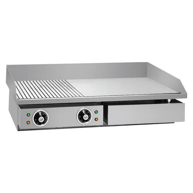 Hot Sales High Quality Commercial Stainless Steel Electric Grills and Griddles For Restaurant Equipment BN-822A