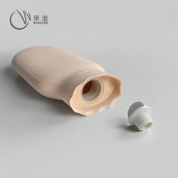 New Fashion Portable Reusable Hand Warmer Bottle Hot-Water Bag Silicone Hot Water Bag