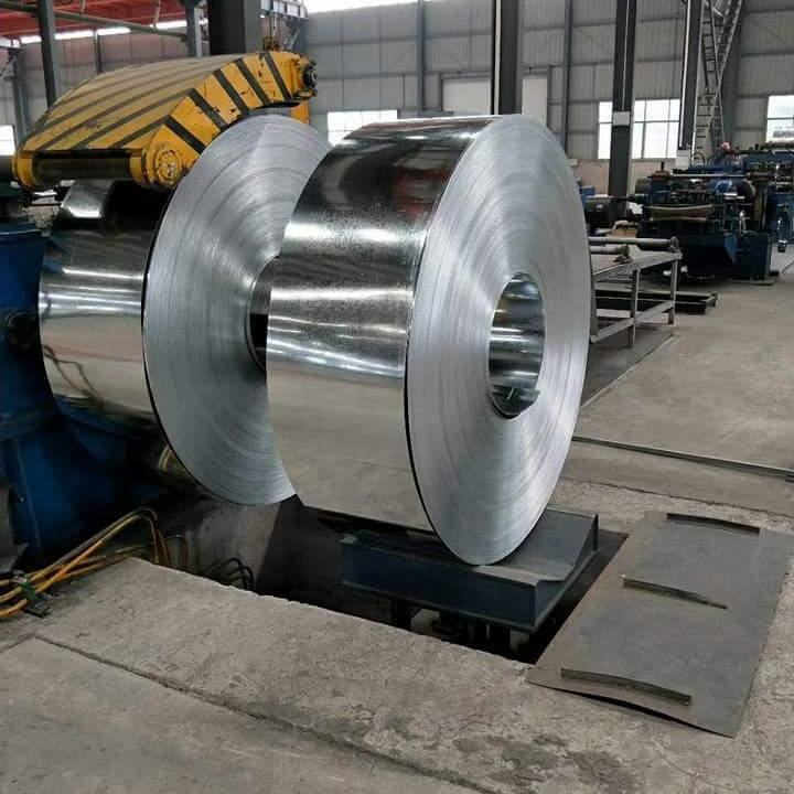 q235 q195 galvanized steel strip/slit coil