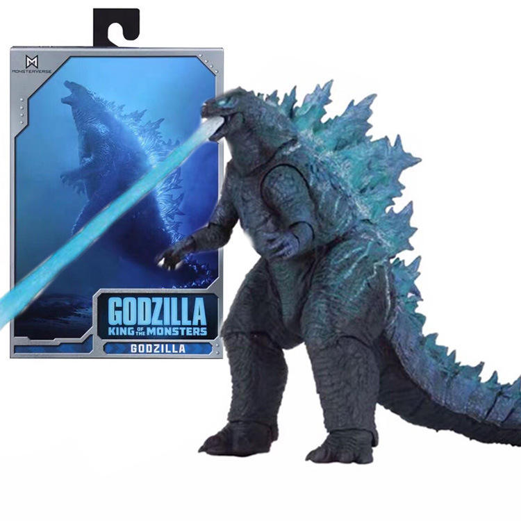 Hot Toys Figures NECA 2019 Godzilla Movie Cosplay Cool Design Anime action Figure Toy