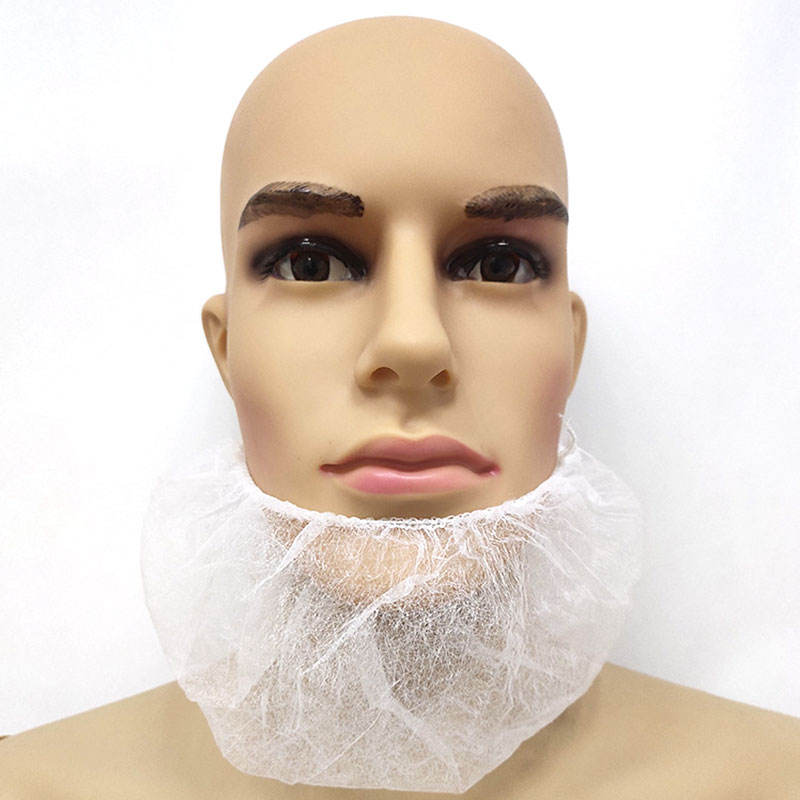 china manufacturer nonwoven beard cover face hair net