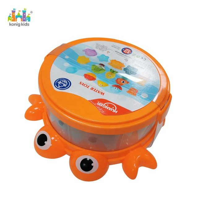 Konig Kids Animal Box Water Toy Bath Baby Bath Toy
