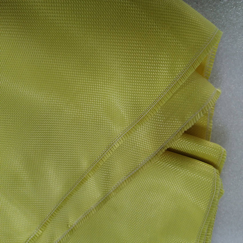 Aramid woven plain cloth bulletproof para aramid fabric 200gsm