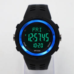 Military watch heart rate pedometer Multifunction Sports Dig