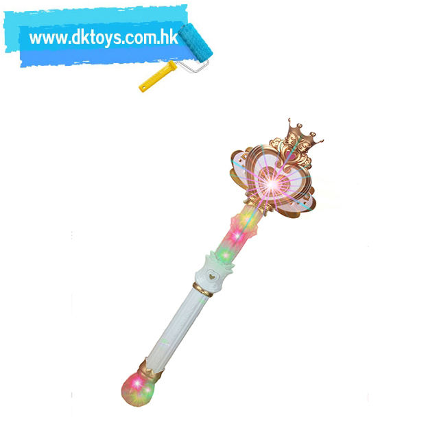 Girls Birthday Gift B/O Princess Pretend Playing Magic Wand