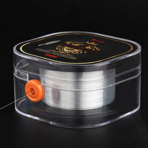 0.12-0.4mm Carbon Fiber Material and Sink Tip Floating Line Buoyancy Characteristic Super Strong Fluorocarbon Fishing Line