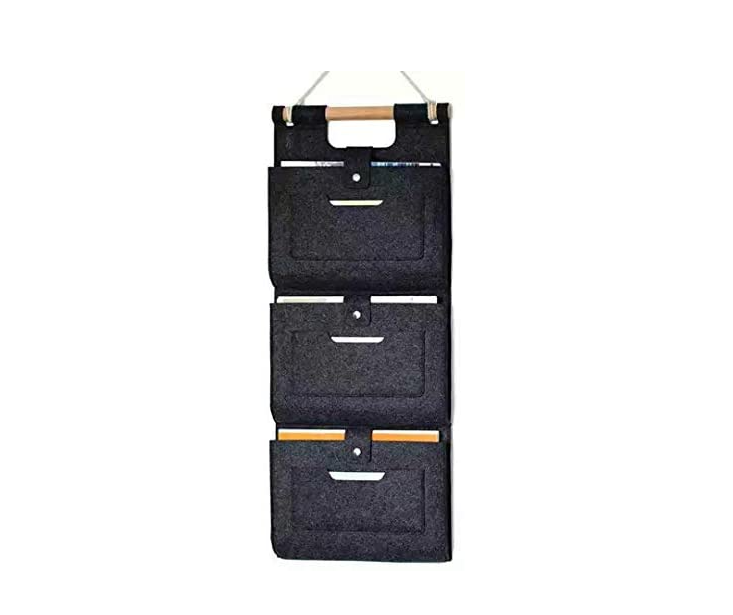Opknoping Muur File Organizer 4 Zakken Wall Mount Document