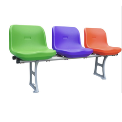 Custom Blow Molding Plastic Bus Seats for City Sightseeing Bus
