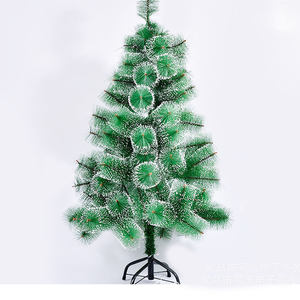 artificial christmas tree Overstock Cheap Plastic Artificial Snow Pine Needle Christmas Tree