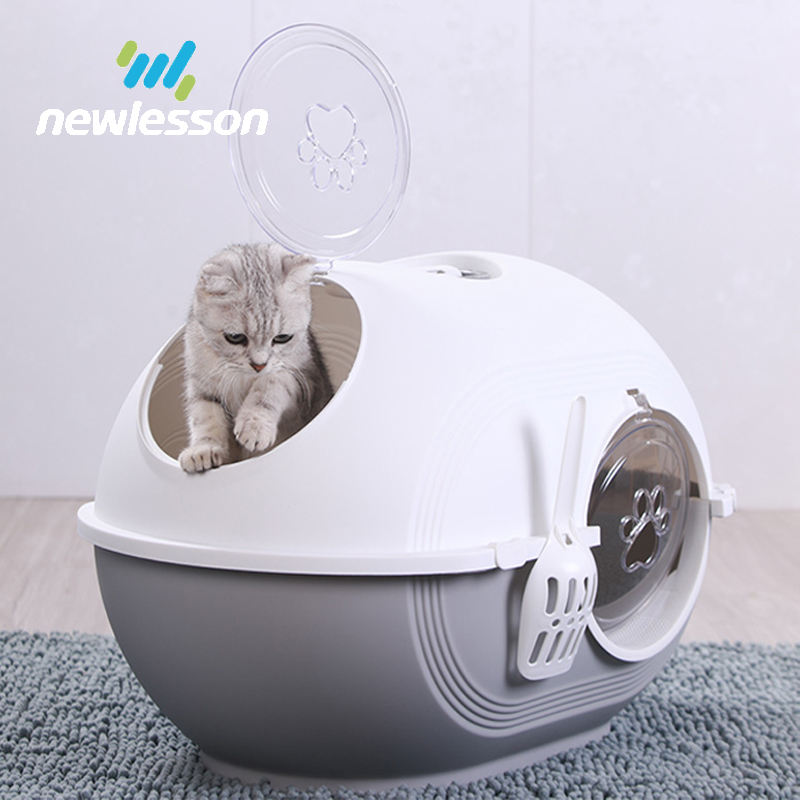 2020 new item egg shape plastic cat litter box pet product