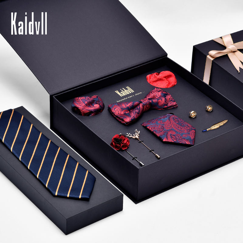 Luxury Best Gift Men Bow Tie Paper Packaging Box for Tie