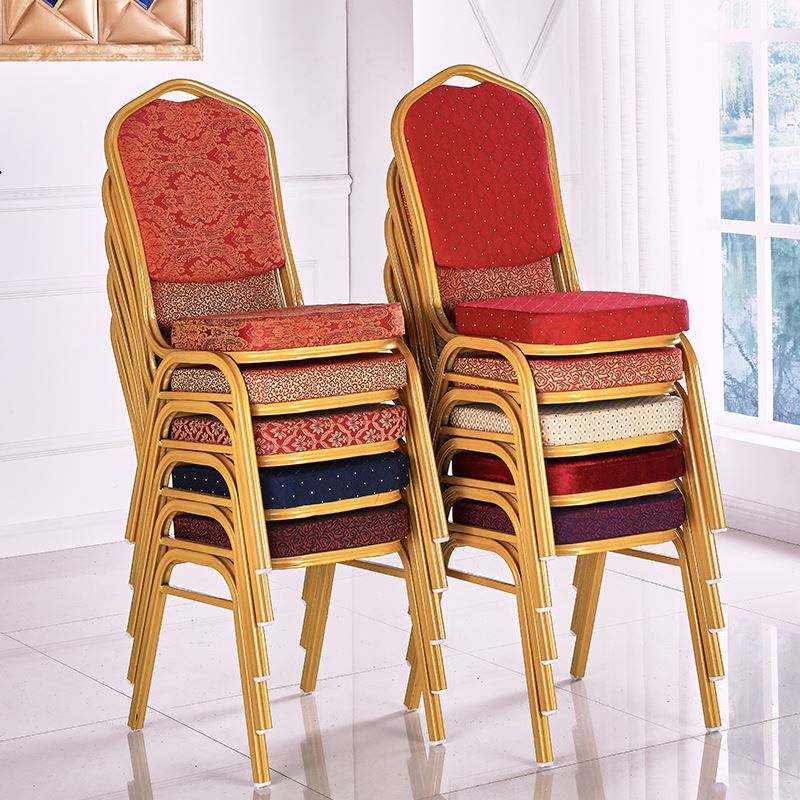 wholesale cheap stackable banquet chair with metal legs chair use for hotel weeding chair furniture