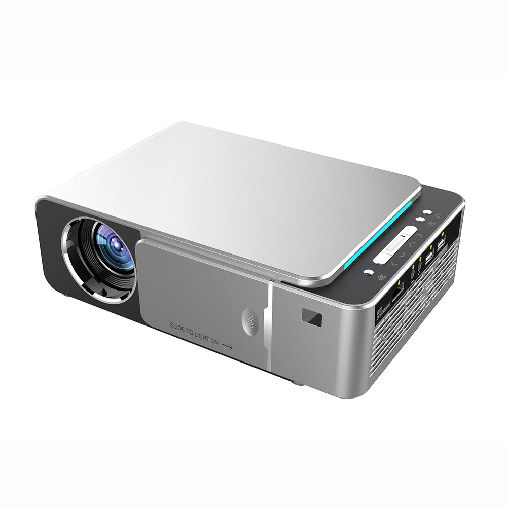 Hot Sale HD Android Projector 3000 Lumens 1280*720p mini LED Projector T6 Home LED Projector T6