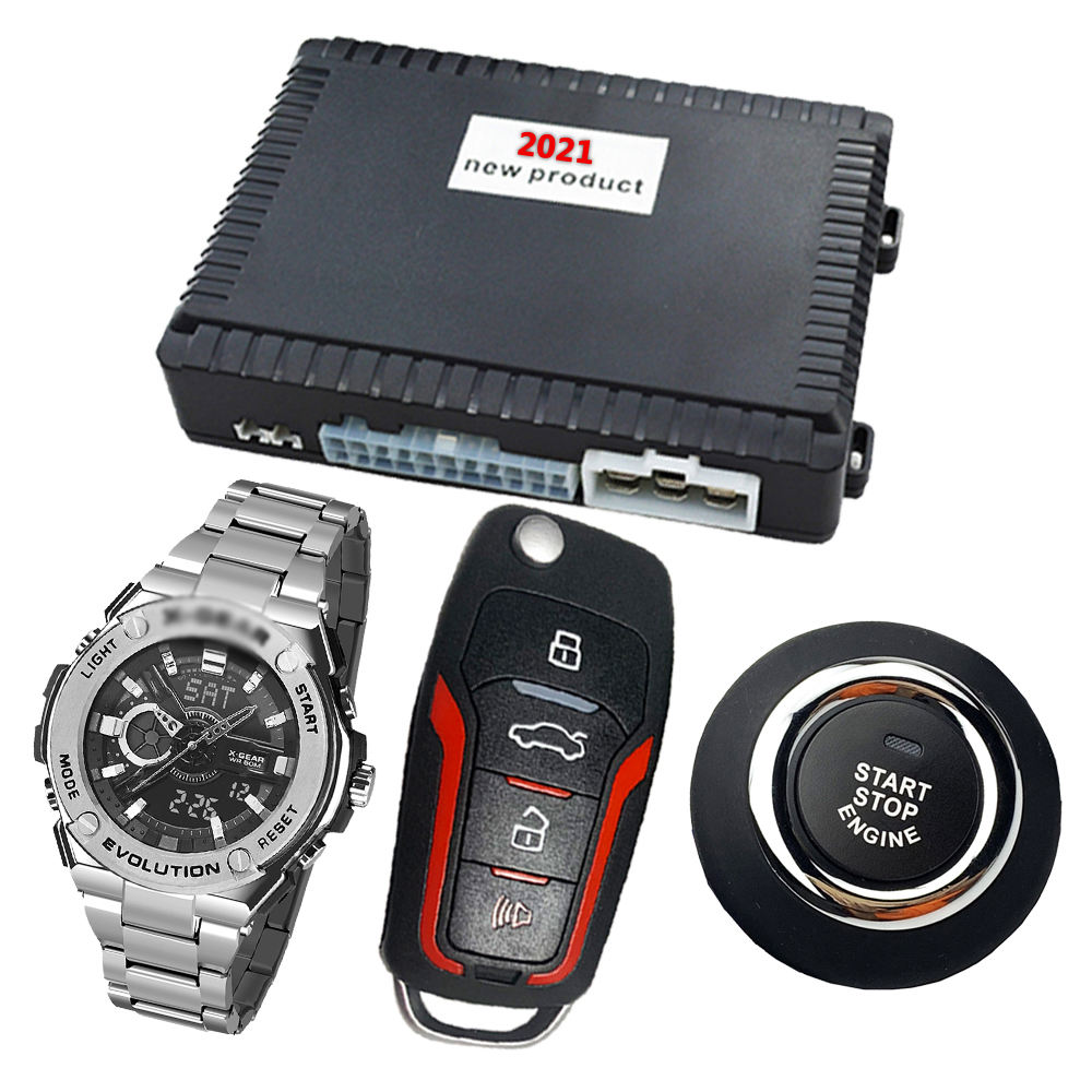 Auto Remote Push Auto keyless Entry Remote Engine Start System <span class=keywords><strong>Wireless</strong></span> Key Auto Alarme