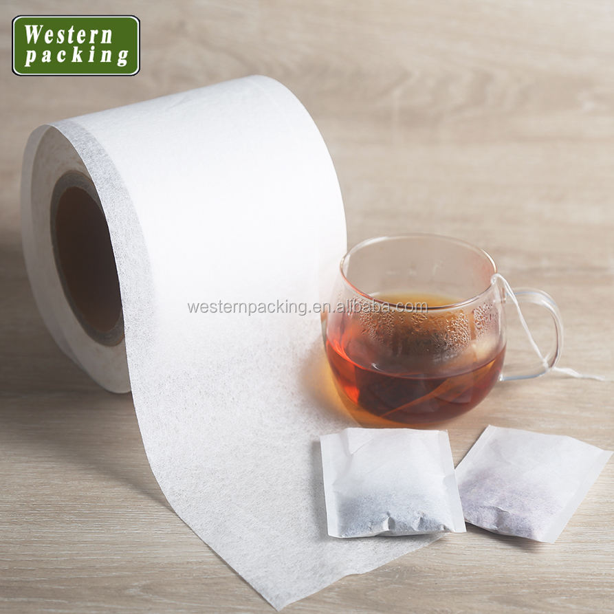 17gsm good performance ability and low price factory supply heat seal tea bag filter paper