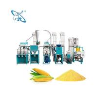 Small Scale Maize Milling Machine For Making Corn Flour