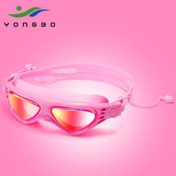 HD anti-fog  Manufacturer Direct Rx Athletes Custom kids Swimming Swim Goggles