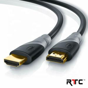 RTC 2M High Speed HDMI Cable with Ethernet Support 4K 60Hz ARC HDR for HDTC PC Projector