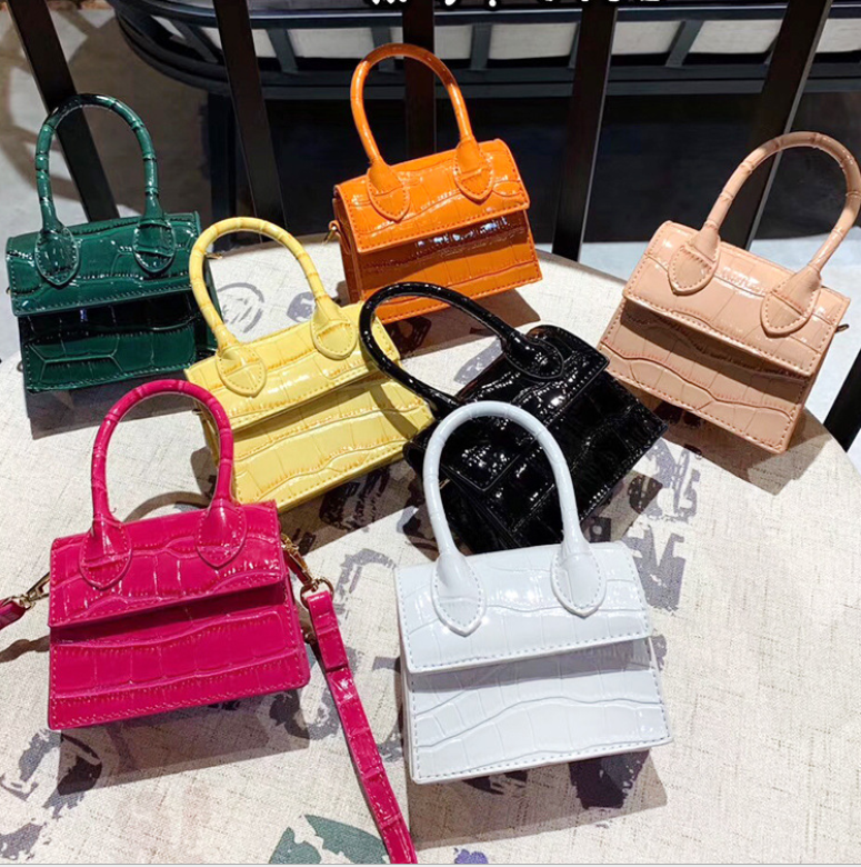 2020 fashion style mini cross body with Korea style three layers chain handbag wholesale Alibaba golden supplier