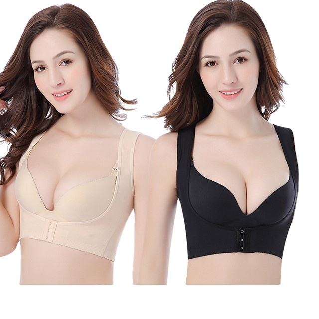 Hot selling breast lift chest support comfortable breathable Vest Body underwear women bra