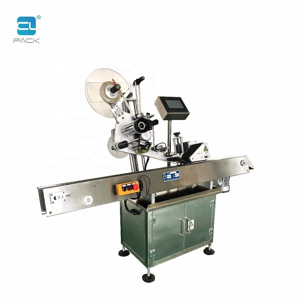 TBJ-2610 Shanghai Manufacturer Produced Automatic Sticker Labeling Machine For Small Round Bottles with Stable Performance