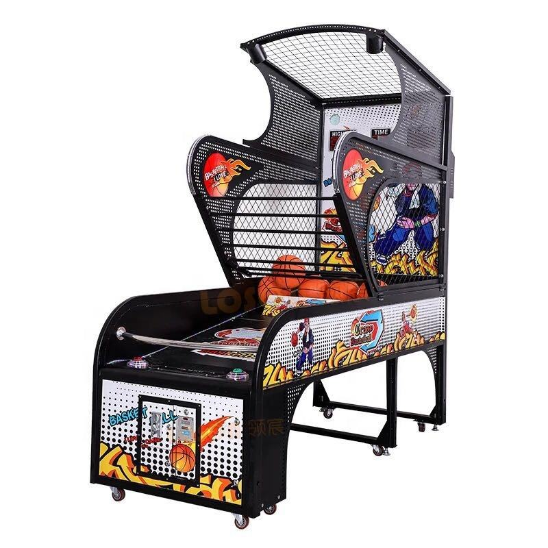 Street coin operated basketball arcade game mchaine for sale