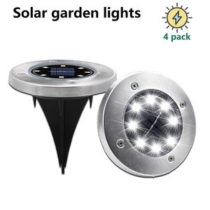 Solar Garden Ground Lamp LED Light Solar Ground Outdoor Solar Inground LED and Pathway